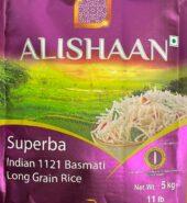 Alishan Superba 1121 Indian Long Grain Basmati Rice (5kgs)