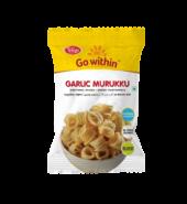 Telugu Foods Garlic Muruku (South Indian Fried Snacks) (170 gms)