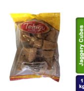 Telugu Foods Jaggery Cubes Light (500 gms)