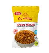 Telugu Foods Madras Mixture(South Indian Fried Snacks) (130 gms)