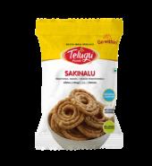 Telugu Foods Sakinalu(South Indian Fried Snacks) (110 gms)
