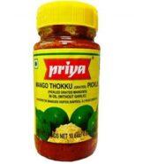 Priya Thokku Mango Pickle (Without Garlic) 300gm