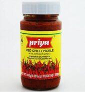 Priya Red Chilli Pickle 300gm