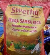 Swetha Seeraga Samba Rice 10 kg