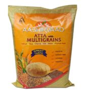 Aashirvaad Atta with Multigrains Whole Wheat Flour 5 kgs