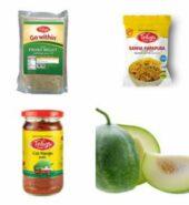 Proso Millet 500gm + Sanna Karapusa 170gm + Cut Mango (Without Garlic) 300gm + Ash Gourd 500gm